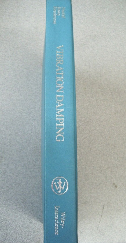 Vibration Damping by Jones, Henderson and Nashif 1985 Hardcover
