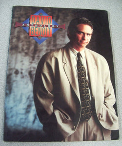 DAVID BENOIT ANTHOLOGY By David Benoit 1990 Softback