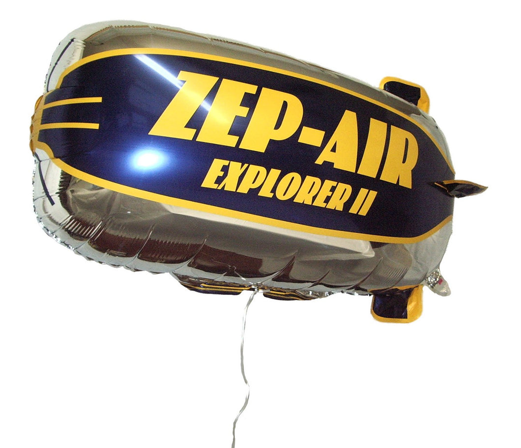 ZEP-AIR™ Explorer II Tethered Blimp Helium Foil Balloon 800mm x 400mm  INTERNATIONAL VERSION