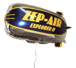 ZEP-AIR™ Explorer II Tethered Blimp Helium Foil Balloon 32in x 16in  USA VERSION