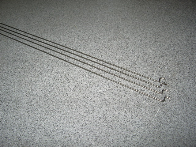 Push Rods 1mm for RC Hobby Servos 29 inch length set of 4