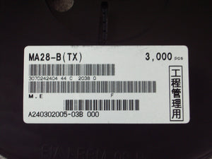 Panasonic MA3X0280BL Varistor Silicon Carbide 6V 6000pc