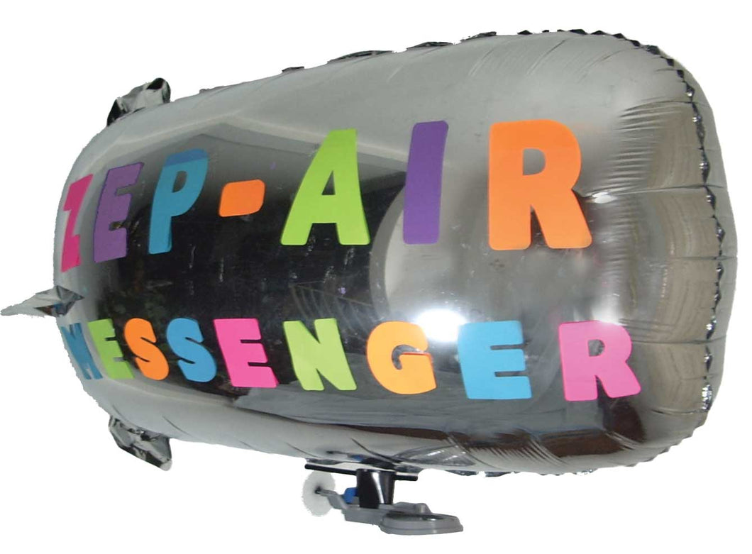 ZEP-AIR Messenger RC Blimp Indoor Zeppelin Helium Party Balloon Electric Airship