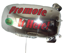 Load image into Gallery viewer, ZEP-AIR™ Messenger Tethered Blimp Helium Foil Balloon 800mm x 400mm Advertising Promotional Greeting  INTERNATIONAL VERSION