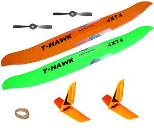 Speed Wing + Tail + Prop Combo for T-Hawk or AeroHawk