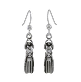 Dive Silver QUATTRO FINS EARRINGS