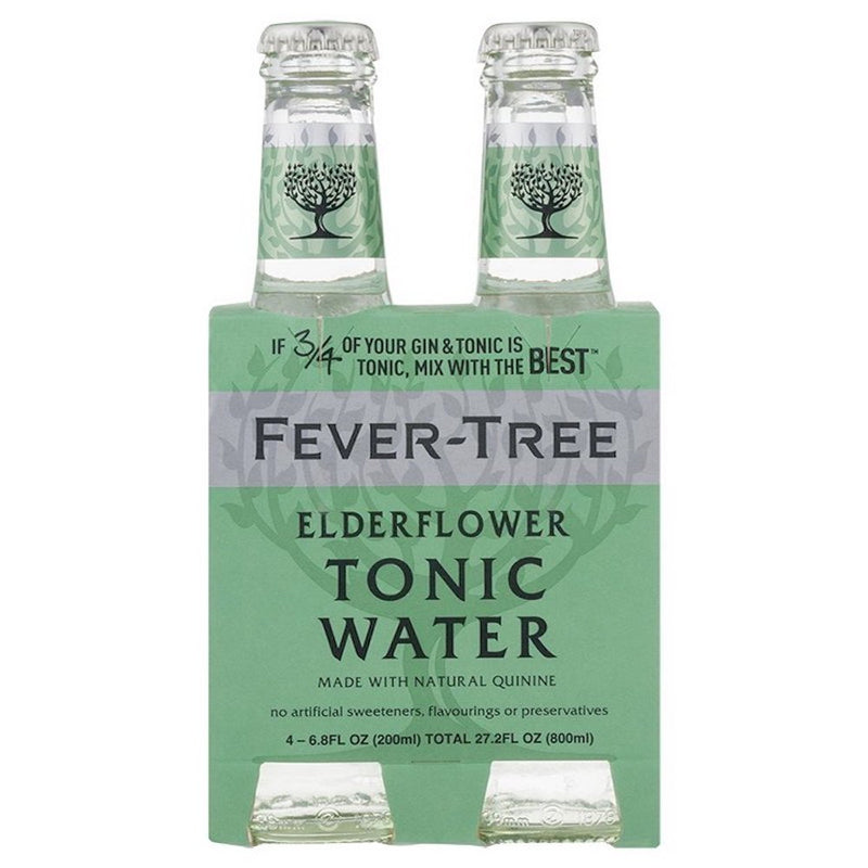 Fever-tree soda - Tonic Elderflower