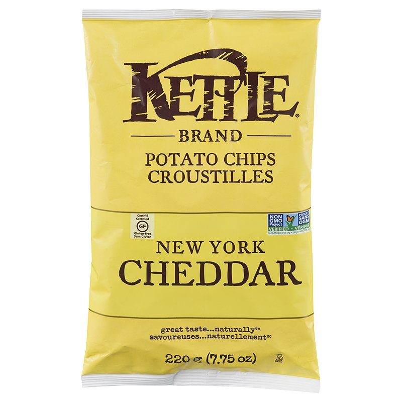 Chips New-York cheddar (Kettle)