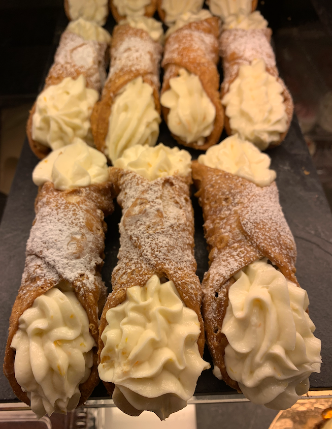 Grand Cannoli maison, ricotta à l'orange