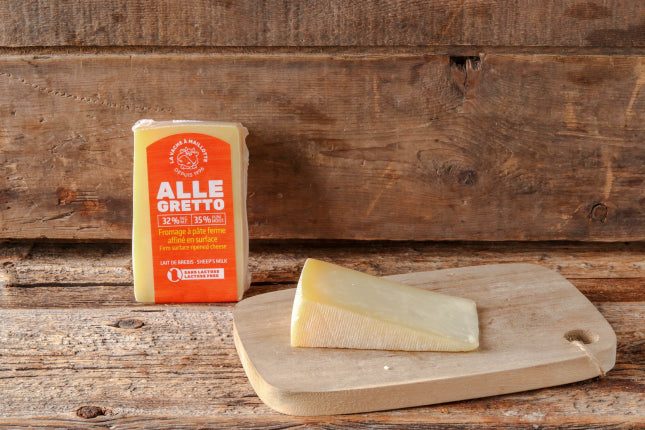 Fromage Allegretto 32% M.G.(Fromagerie La vache a Maillotte)