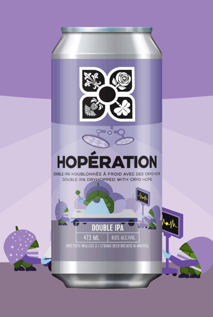 Hoperation 8% (4 Origines)