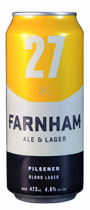 Pilsener lager blonde 4.8% (Farnham ale and lager)