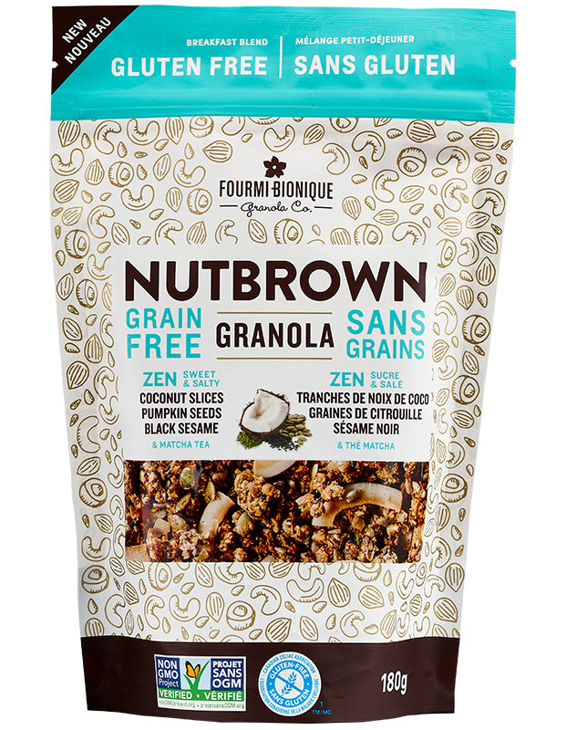 Granola Nutbrown, sans gluten, sans grains (La Fourmi Bionique)