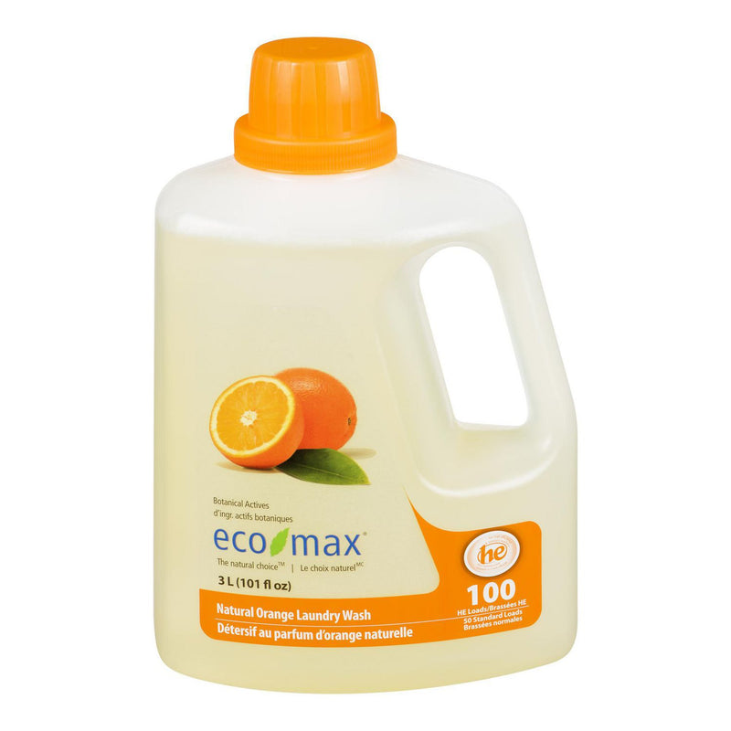 Detersif au parfum d'orange naturelle (Eco Max)