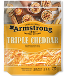 Fromage triple cheddar doux et mi-fort (Armstrong)