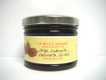 Kalamata olives (La belle excuse)