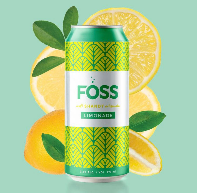 Limonade Shandy 3,4% (Foss)