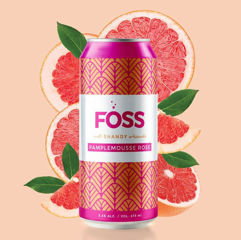 Pamplemousse rose Shandy 3,4% (Foss)