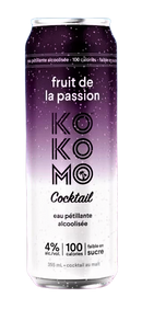 Fruit de la passion 4% (Kokomo cocktail)
