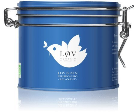 Lov is Zen tisane - Lov Organic (Kusmi Tea)