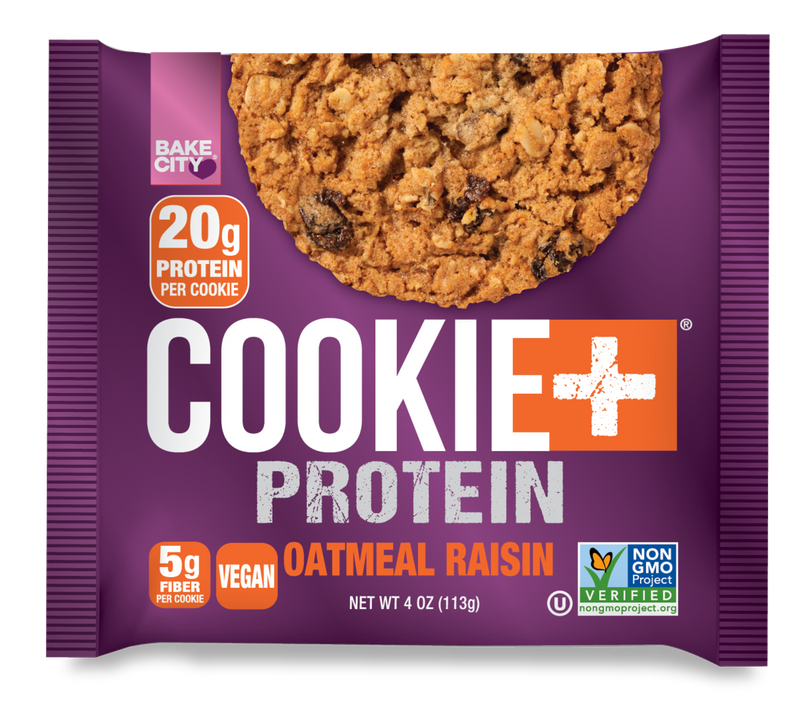 Protéine raisin d'avoine Cookie + (Bake City)