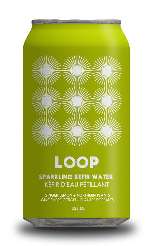 Kefir d'eau pétillant gingembre lime (Loop)