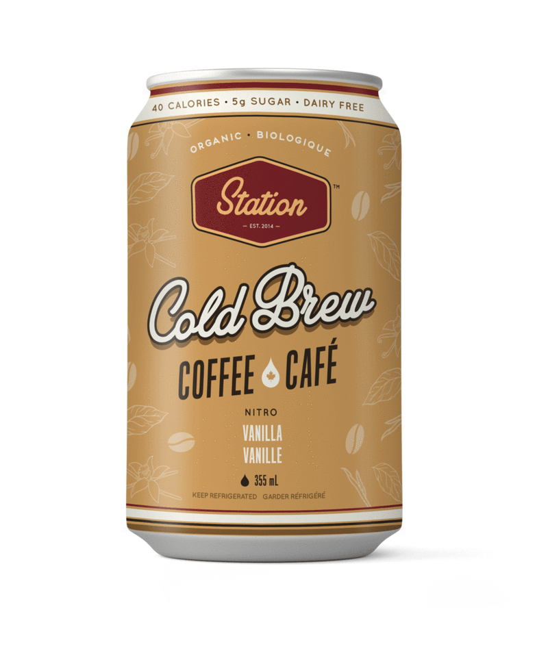 Café infusé à froid (Station Cold Brew)