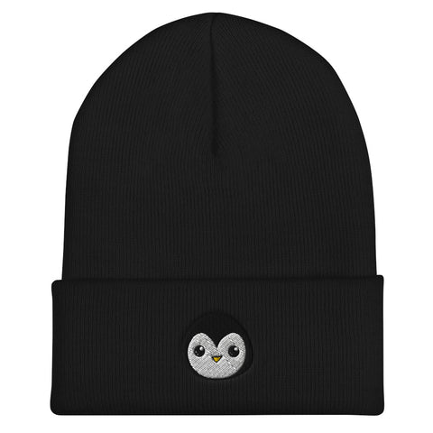 Penguin Core Logo Beanie- Black