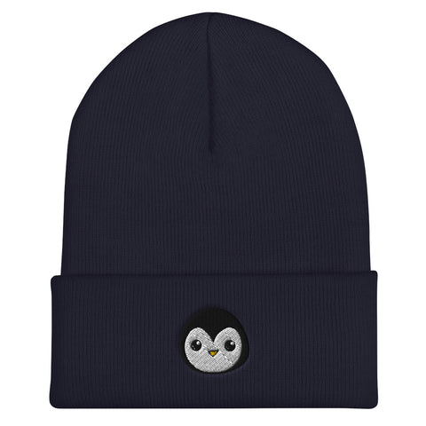 Penguin Core Logo Beanie- Navy