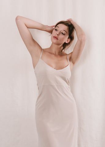 silk lycra dress slip Now or Never Lingerie NZ made