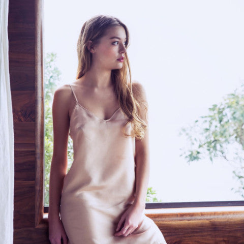 Delphine Silk Dress Slip