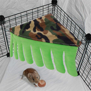 Pet Bed House Small Pet Hammock With Curtain Tent Shelter Nest Cottage For Guinea Pigs Ferrets Chinchillas Hedgehogs Rabbits