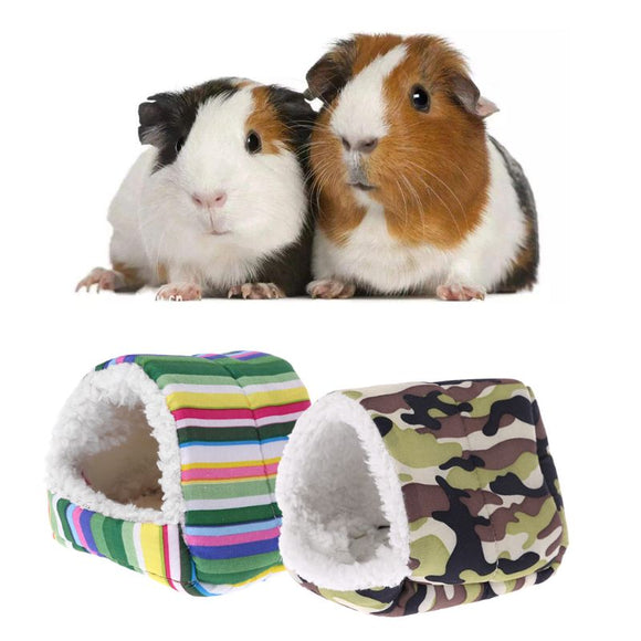 2019 New Fleece Hamster Cage Guinea Pig Sleeping Mat Bed Warm Pad Small Animal House Pet supplies