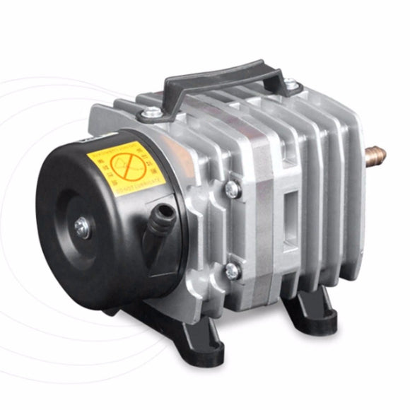 220V 18W 38L/Min Aquarium Air Pump Electromagnetic Air Compressor Fish Tank Farms Pond Oxygen Pump Aquarium Accessories