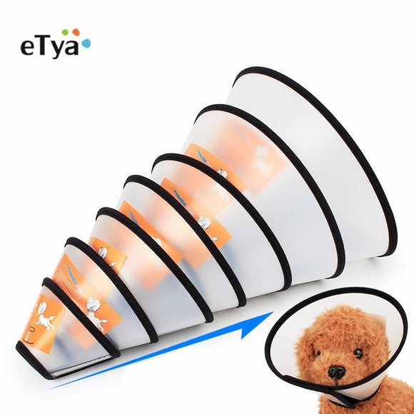 Pet Protective Collar Dog Neck Cone Recovery Cone Collar for Anti-Bite Lick Surgery Wound Healing Cat Dogs Health Medical Circle