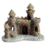 Aquarium Resin Castle Fish Tank Decorations Castle Tower Ornaments Fish Tank Aquarium Accessories Decoration