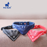 Pet Soft Pet Cat Collar Adjustable Pet Cat Scarf Collars Neckerchief Necklace trigon Pet accessories  Adjustable Small Dog Scarf