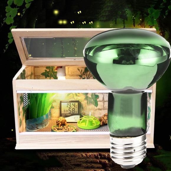 New Arrival 25/50/75/100W UV Reptile Lamp Bulb Turtle Basking UV Light Bulbs Heating Lamp For Amphibians Lizards Snake
