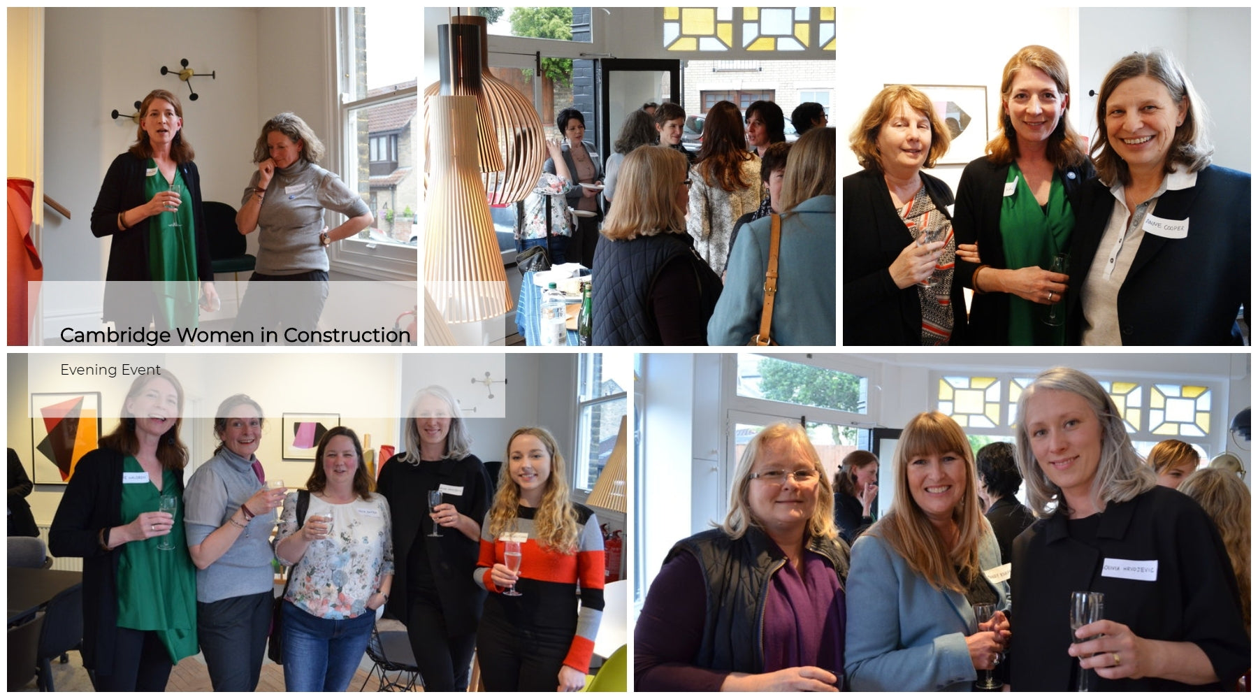 Cambridge Women in Construction Evening
