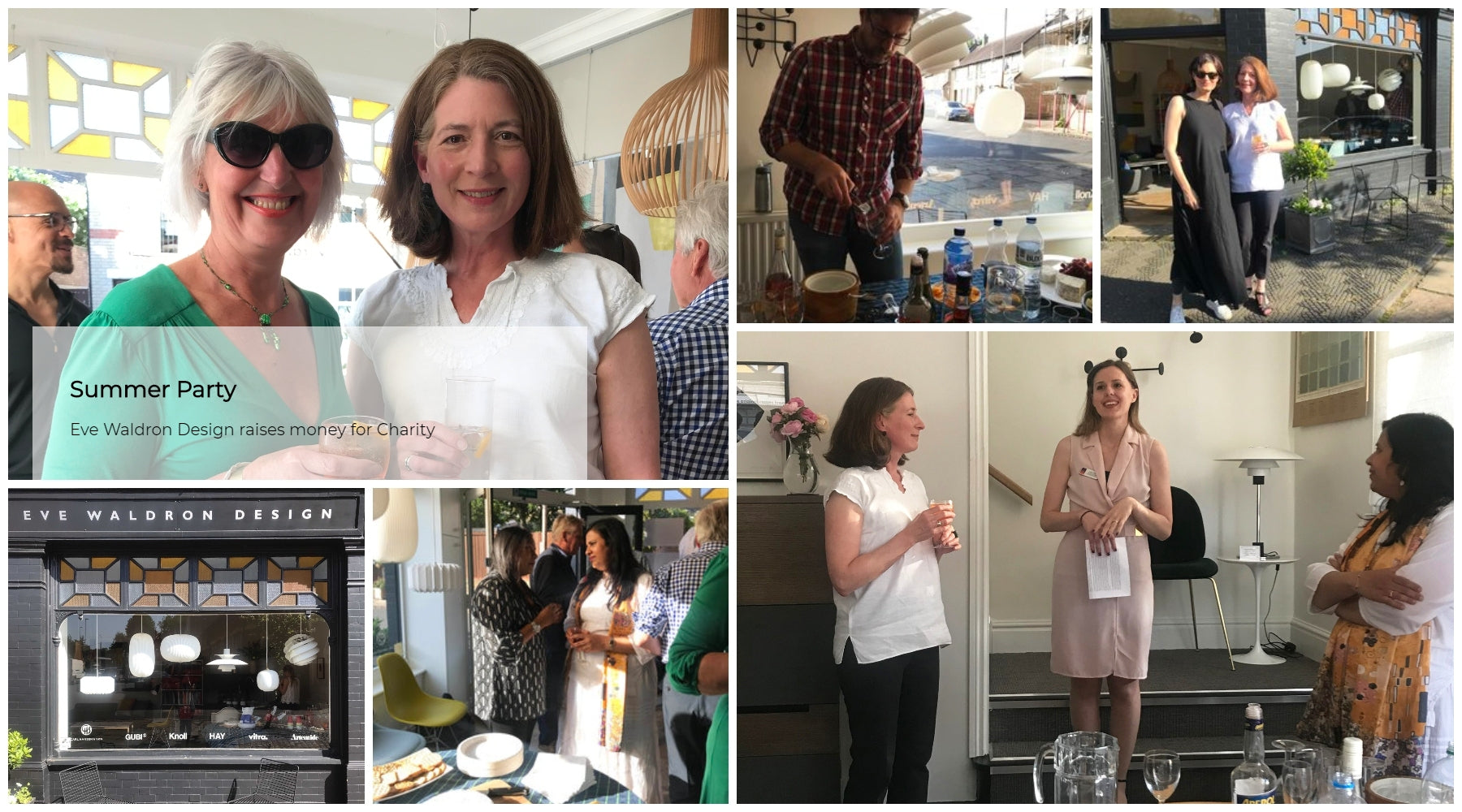 Eve Waldron Design raises money for Charity at Summer Party