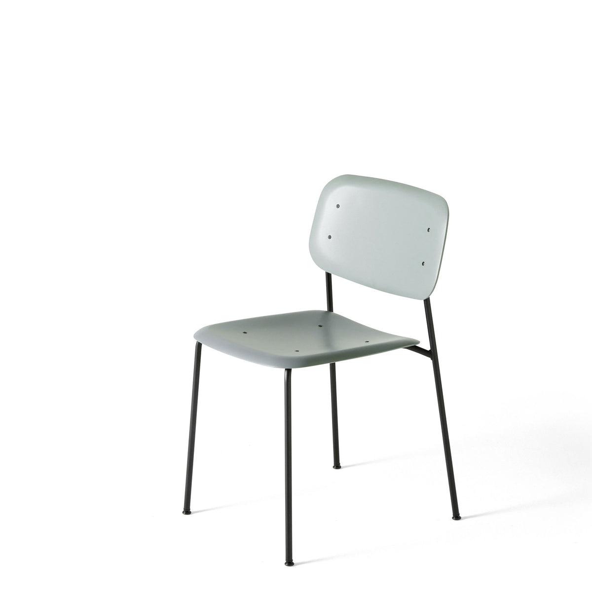 HAY Pair of Soft Edge P10 Stackable Chairs Hunter S