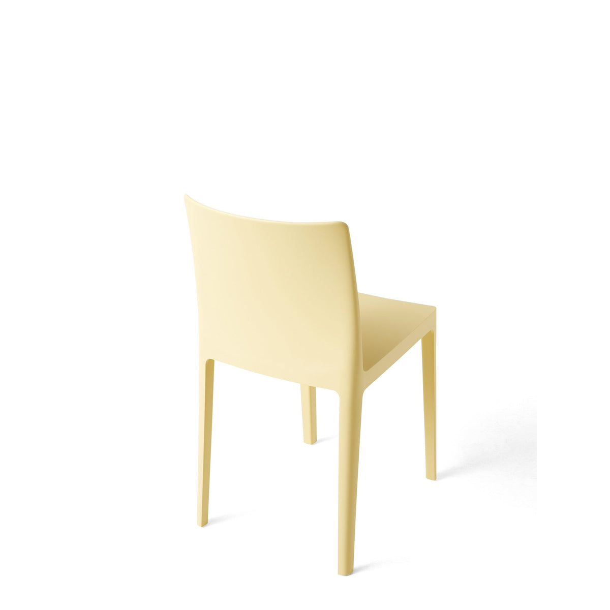 HAY Office Pair of Élémentaire Chairs Light Yellow