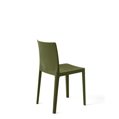 HAY Office Pair of Élémentaire Chairs Olive Green