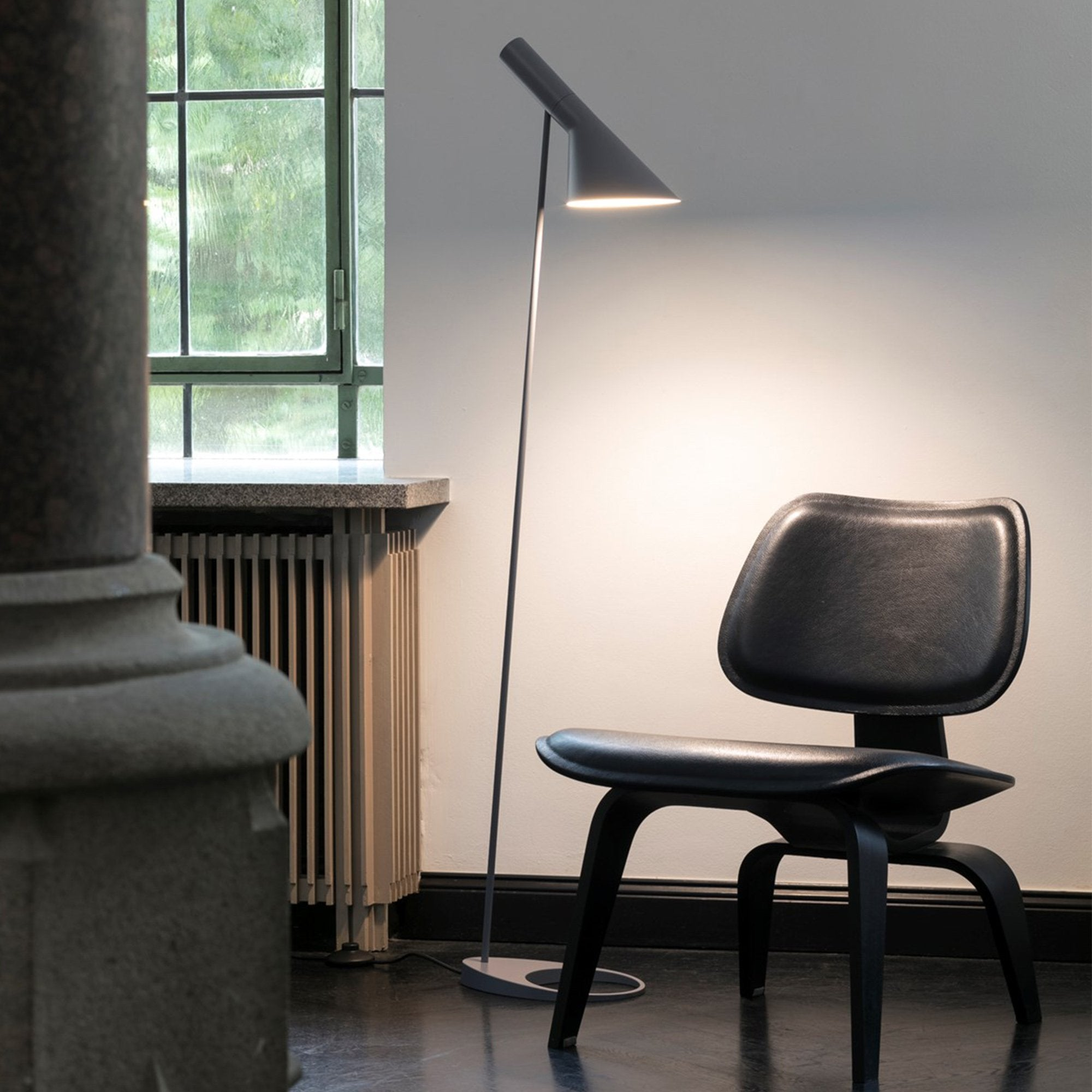 Louis Poulsen AJ Floor Lamp by Arne Jacobsen