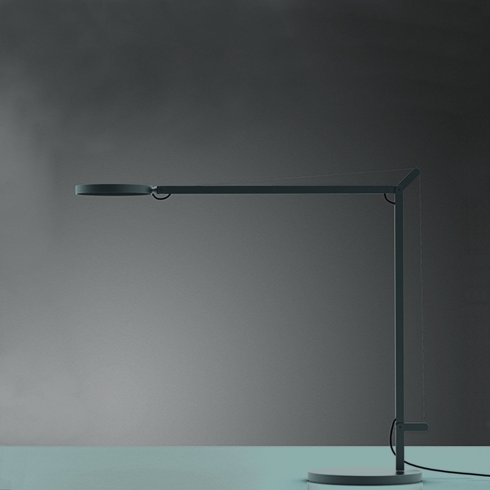Artemide Demetra Table Task Light Grey Anthracite