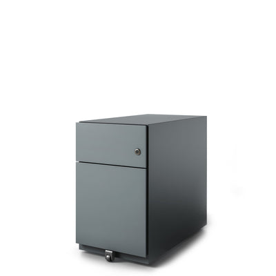 Bisley Office Note Slimline Mobile Anthracite Grey Pedestal