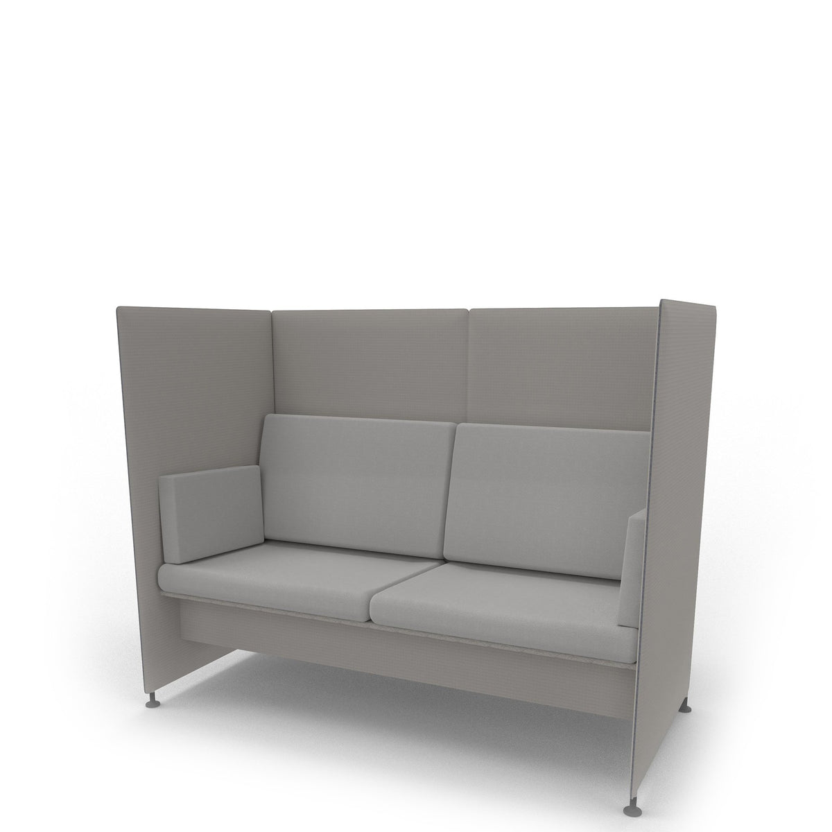 Edsbyn Ease Sofa Pod with Silver Cushions