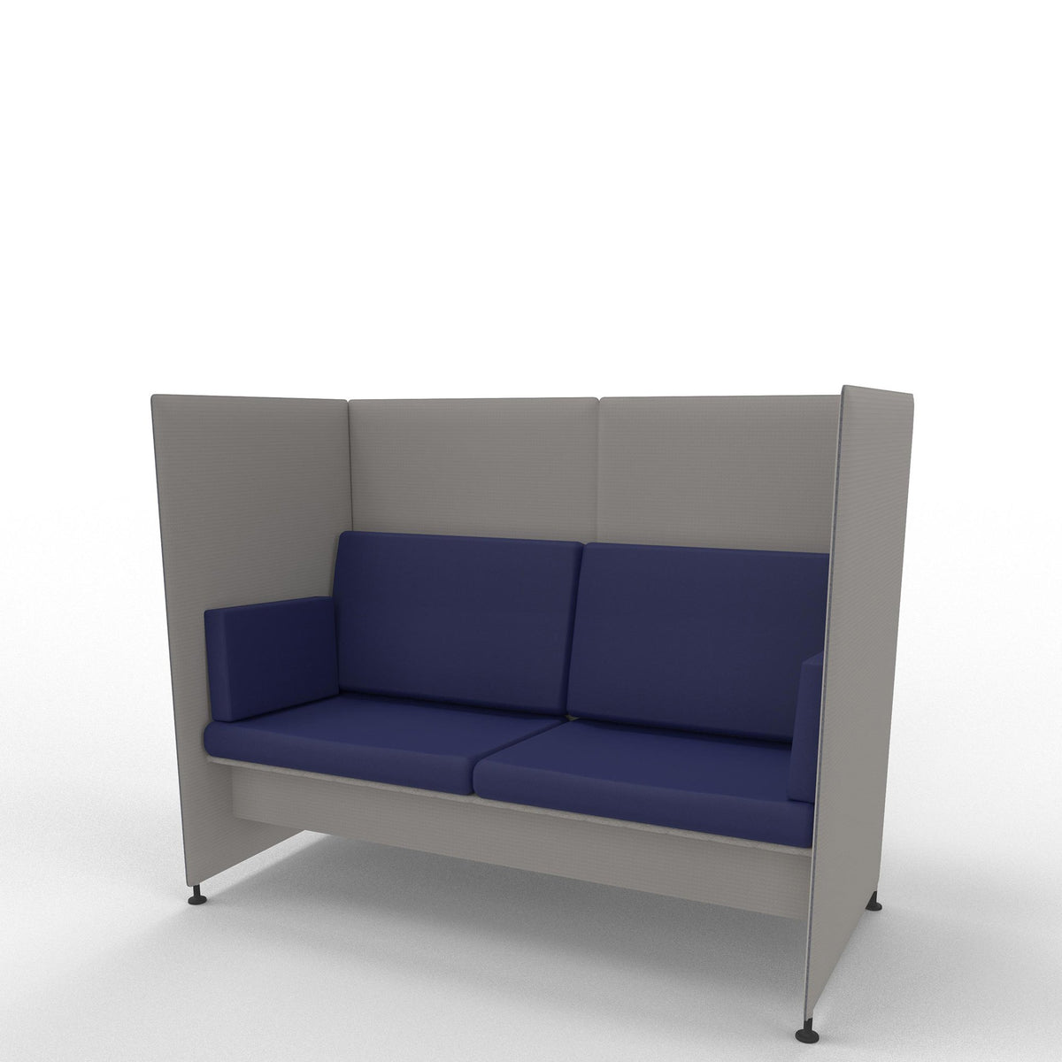 Edsbyn Ease Sofa Pod with Royal Blue Cushions