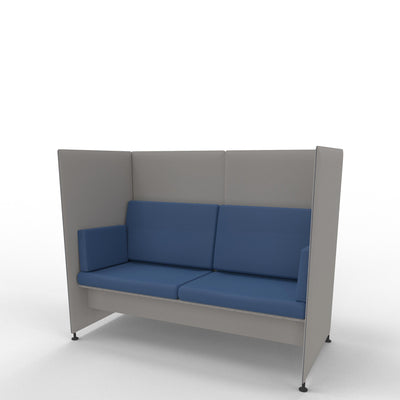Edsbyn Ease Sofa Pod with Dusty Blue Cushions