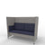 Edsbyn Ease Sofa Pod with Indigo Cushions